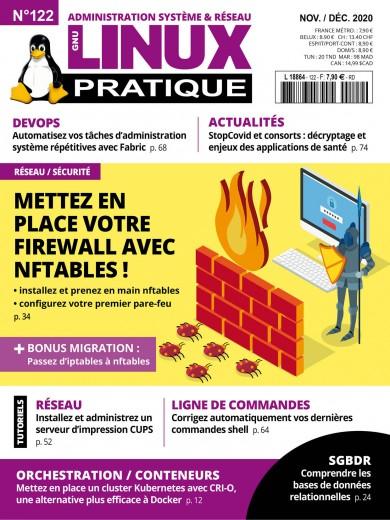Couverture Linux Pratique